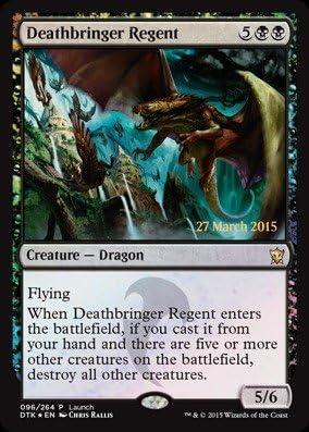 Foil by Deathbringer Regent 096//264 - Prerelease /& Release Promos Magic The Gathering