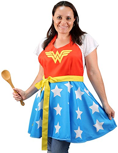 - 51bV98ZluCL - Wonder Woman Fashion Apron 16147