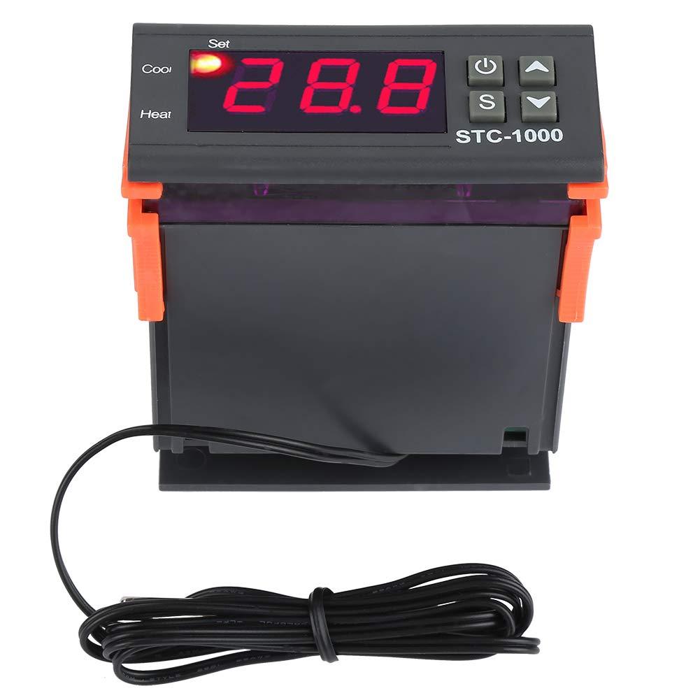 Controller di temperatura con sensore regolatore di temperatura digitale sensore di temperatura controllo termostato elettrico 110-220V