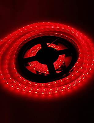 MEIREN Waterproof 5M 72W 300x5050SMD Red Light LED Strip Lamp (DC 12V)