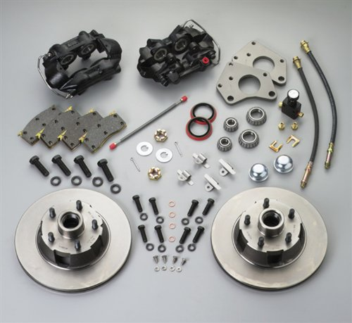 SSBC A156-1 Front Drum to Disc Brake Conversion Kit