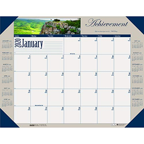 House of Doolittle 2020 Monthly Desk Pad Calendar, Motivational, 22 x 17 Inches, January - December ()