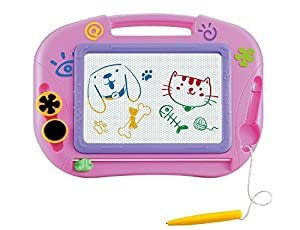 Big Size Magnetic Drawing Board Toy for 3+ year old kids Meg asketcher Doodle Educational Toys gift set with Lovely Sticker