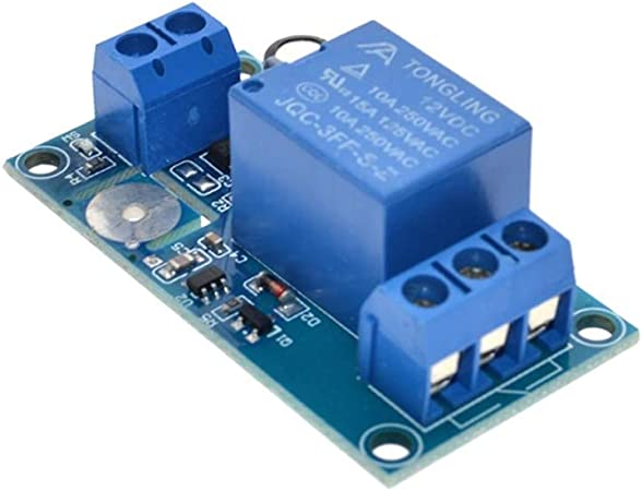 Commutateur Tactile capacitif de Module de Relais de Contact de 12V 1-Channel pour Arduino TTP223