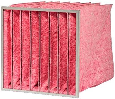DELBAG Taschenfilter MultiSack G85, F7, Mikroglasfaser, Metallrahmen, 4 Einzeltaschen (287x287x600)