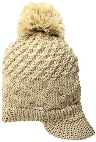 Coal Visor (Coal Women's The Jane Brim Beanie, Khaki, One Size)