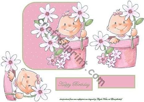 Maceta de bebé por Angela de encendido: Amazon.es: Hogar