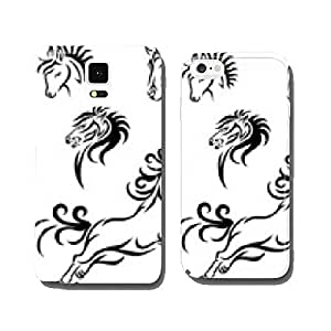 Horse tribal cell phone cover case Samsung S6