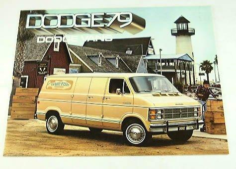 1979 79 DODGE VAN BROCHURE B100 B200 B300 Street (Dodge B300 Van)