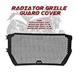 Motorcycle Radiator Grille Grill Guard Protective Cover Grill For Ducati Monster 821 1200 1200S Supersport 939 2014-2016
