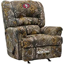 Imperial Officially Licensed NFL Furniture: Big Daddy Camo Microfiber Rocker Recliner