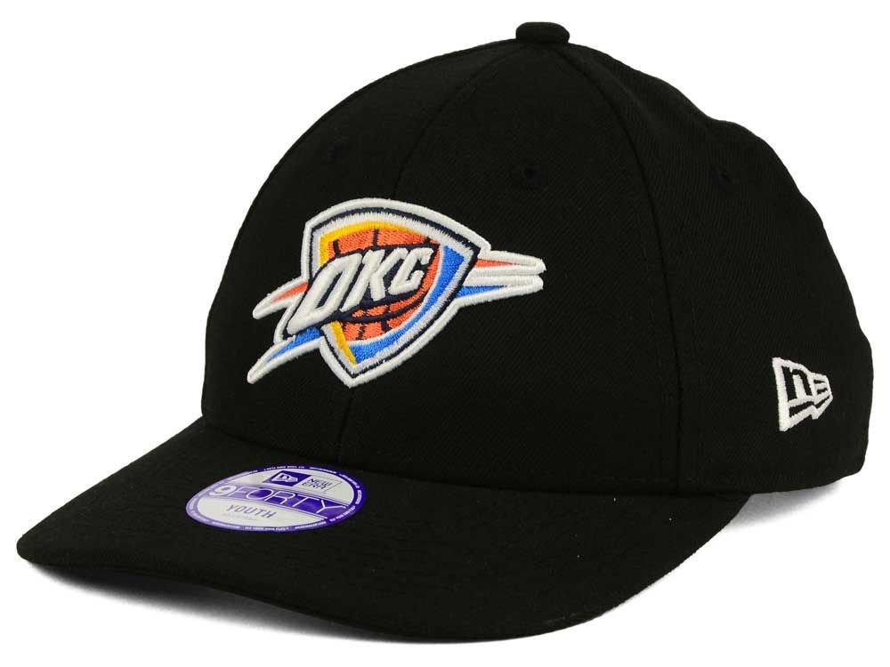 4c32b1260e9 New Era Men s Nba Team 9Forty Oklahoma City Thunder Offical Team Colour  Baseball Cap