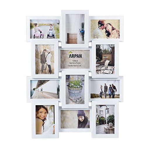 White Photo Frames Multiple Photos: Amazon.co.uk