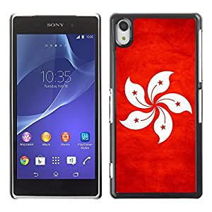Shell-Star ( National Flag Series-Hong Kong ) Snap On Hard Protective Case For SONY Xperia Z2 / D6502 / L50W