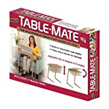 Versatile Multipurpose Designed Table-Mate Adjustable Table in Mocha by Table-Mate