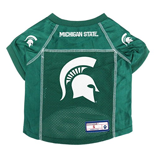 NCAA Michigan State Spartans Pet Jersey, Small