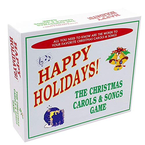Christmas Carols & Songs Game - Includes the best and and most popular Christmas carols and songs in one great board game. Add it to your collection of Christmas party -