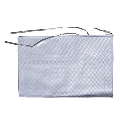 MTB Sand Bags 14''x26'', Empty White Woven Polypropylene w/Ties, UV Protection, 100Pack (Also Sold in 10Pack / 50Pack. 17''x27'' / 18''x30'' Available) by MTB Supply (Image #4)
