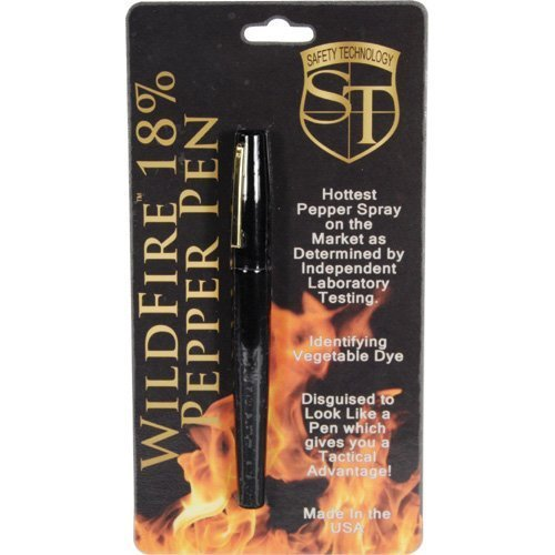 SAFETY TECHNOLOGY Wildfire Pepper Pen 18% 1/2 oz. ()