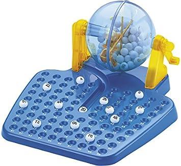 XTURNOS Juego de Mesa Bingo Lotería con 90 Números y 48 Cartones: Amazon.es: Juguetes y juegos