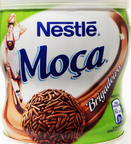 Amazon.com : Nestlé - Moça Fiesta - Chocolate Truffle - 13.58 Oz (PACK OF 02) | Brigadeiro - 385g : Chocolate Truffles : Grocery & Gourmet Food