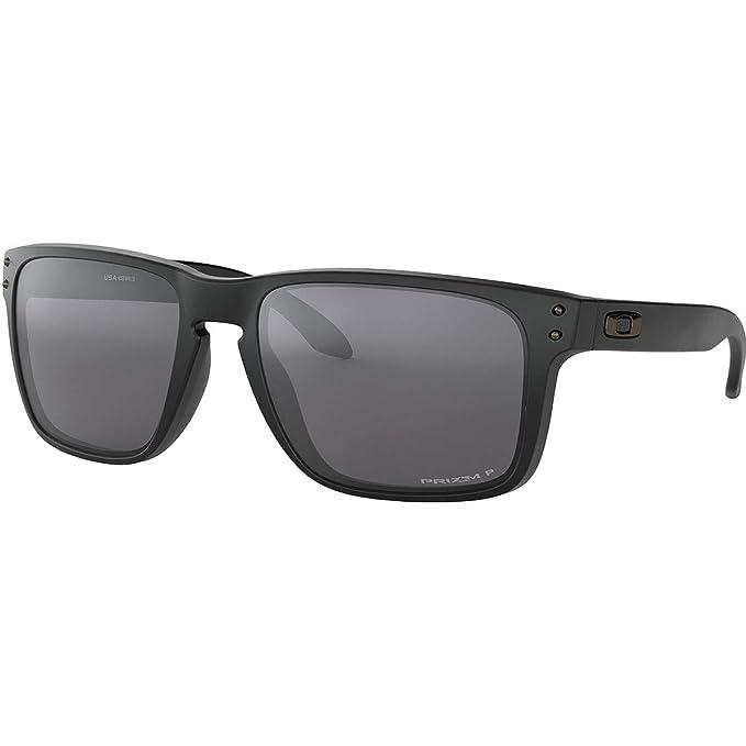 334698ee02 Oakley Men 's Holbrook XL polarizadas Iridio anteojos de sol cuadrados,  negro mate,