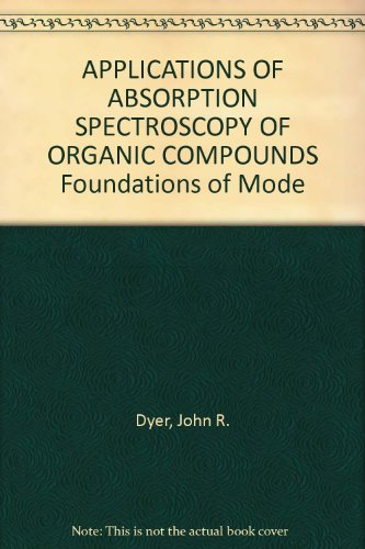APPLICATIONS OF ABSORPTION SPECTROSCOPY OF ORGANIC COMPOUNDS Foundations of Mode