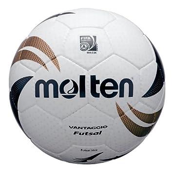 MOLTEN Futsal - Balón oficial de fútbol sala, color blanco: Amazon ...