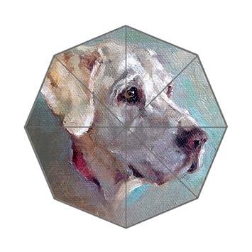 Flipped Summer Y Paraguas de Pintura al Óleo para Perro, Diseño