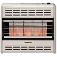 HeathRite Vent-Free Radiant Heater Natural Gas 30000 BTU, Thermostatic Control
