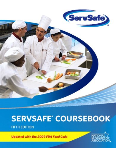 ServSafe CourseBook with Online Exam Voucher 5th Edition, Updated with 2009 FDA Food Code (5th Edition) (MyServSafeLab S