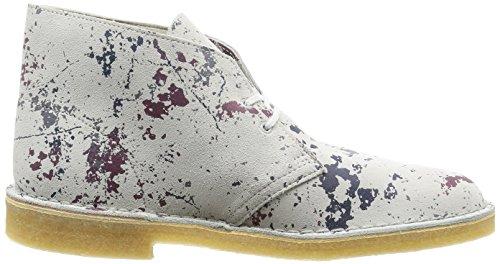 Clarks Originals Casual Hombre Botas Desert Boot En Ante Multicolor Tamaño 43