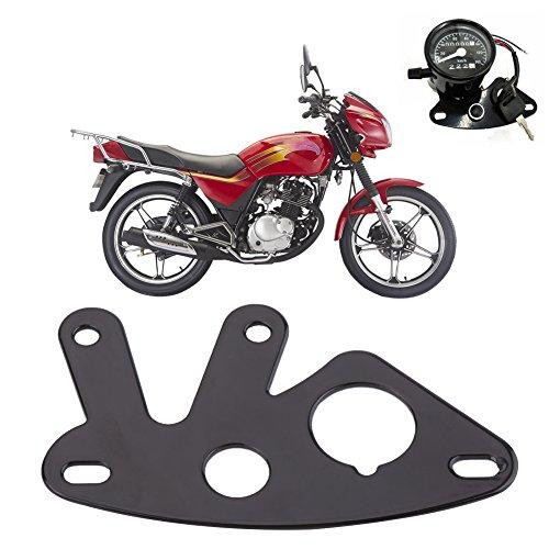 Anauto Universal Motorcycle Instrument Bracket Speedometer Odometer Mount Stand (Speedometer Bracket)