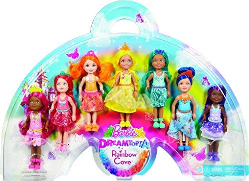 Barbie-Dreamtopia-Rainbow-Cove-7-Doll-Gift-Set