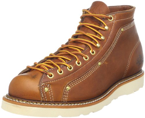Thorogood 814-4233 Men's American Heritage Wedge Lace-to-Toe Roofer Boot Tobacco Gladiator 6 D US