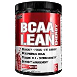 energy recovery - Evlution Nutrition BCAA Lean Energy - Energizing Amino Acid for Muscle Building Recovery and Endurance, With a fat burning formula, 30 Servings (Fruit Punch)