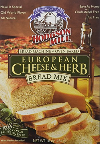 Hodgson Mill Bread Mix European Cheese & Herb, 16-ounces (Pack of 6)
