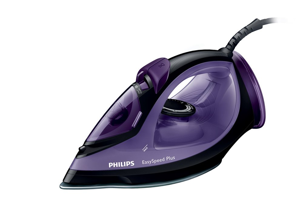 Philips EasySpeed Steam iron GC2045/80 with up to 140g Steam Boost & Ceramic soleplate [Energy Class A]