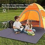 """REDCAMP Waterproof Camping Tent Tarp - 83"""" x83, 4"""