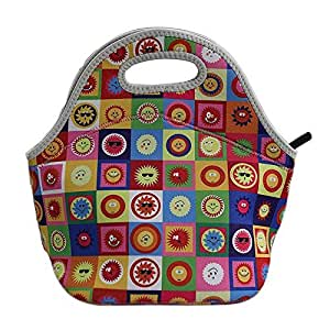 Cute sun collection insulated waterproof lunch bag for kids