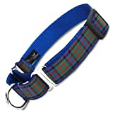 Plaid Martingale Collar, MacDonald Tartan