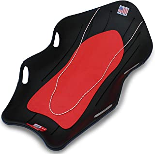"""product image for Flexible Flyer Snow Boat Sled. 48"""" Plastic Sno Slider Bobsled, 48 x 24 x 7.25 inches, Model:912"""