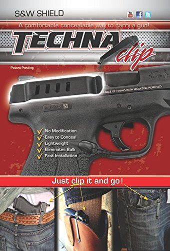 Techna Clip Gun Belt Clip - Smith & - Gun Clips