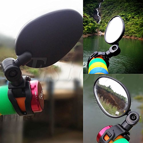 Aixia Universal Handlebar 360° Rotate Rearview Mirror for Bike MTB Bicycle Cycling New