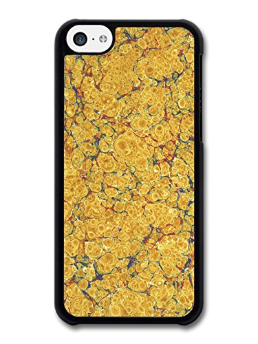 Oil in Water Beautiful Natural Pattern with Yellows and Blue case for iPhone 5C
