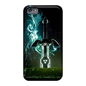 Scratch Resistant Cell-phone Hard Covers For Apple Iphone 6 (IYA1637ifBt) Custom Trendy The Legend Of Zelda Skin