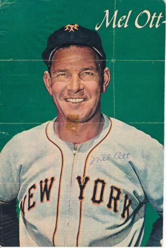 Mel Ott New York Giants Signed 8x10 1948 Magazine Photo JSA 144279 (Magazine Photo Media)
