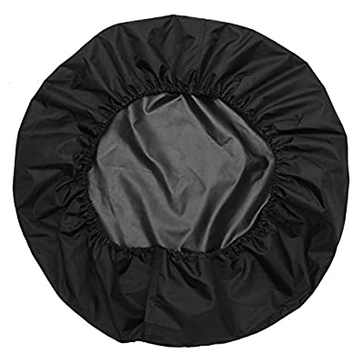 Spare Tire Cover Leather Red Dog Claw Car Truck SUV Camper for Jeep Liberty Wrangler Commander Compass Grand Cherokee Size M R15 235/65R17 255/65R16 235/75R15 245/70R15 (Diameter 28inch-30inch): Automotive