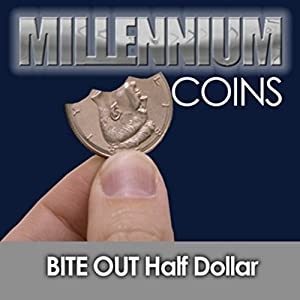Millennium Coins Bite Out Half Dollar By Mak Magic