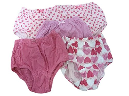 Precious Cute Great Quality,printed Assorted Girls Panties with bow 5-pack
